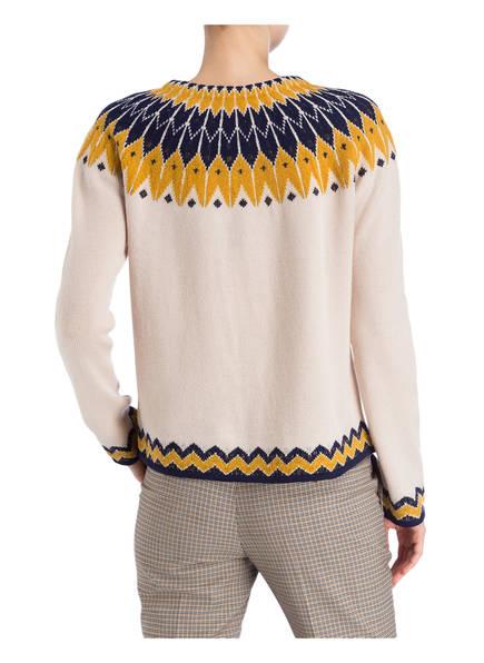 Dunkelblau Windsor Windsor Pullover Pullover Dunkelgelb Creme 5Inf0qxw