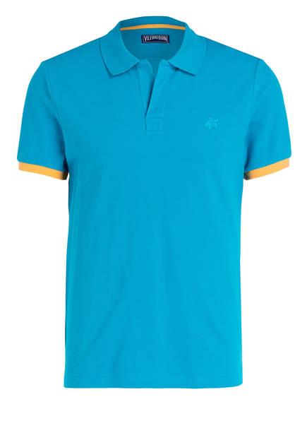 VILEBREQUIN Piqué-Poloshirt Regular Fit, Farbe: TÜRKIS (Bild 1)