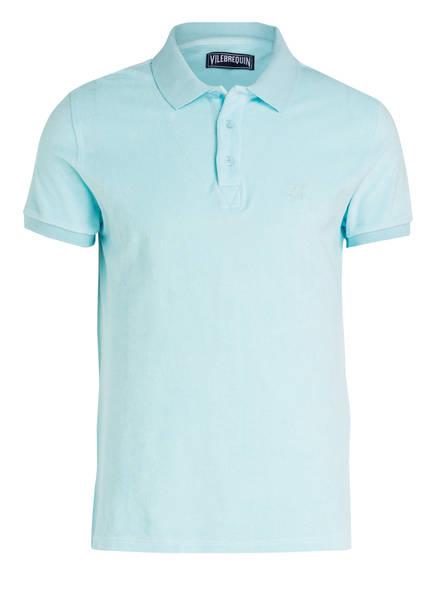 VILEBREQUIN Frottee-Poloshirt, Farbe: TÜRKIS (Bild 1)