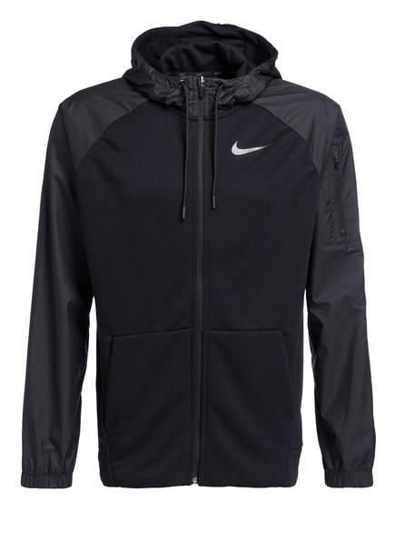 Nike Hybris-Trainingsjacke DRI-FIT UTILITY, Farbe: SCHWARZ (Bild 1)