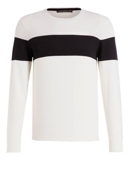 DRYKORN Pullover CLINT , Farbe: WEISS/ SCHWARZ (Bild 1)
