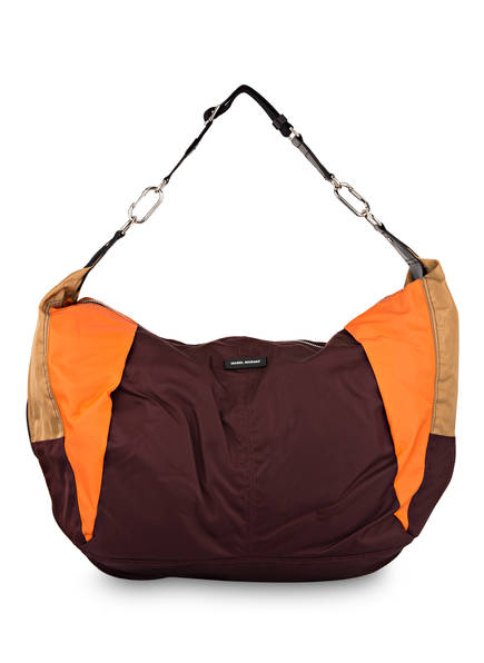 ISABEL MARANT Hobo-Bag LIEVEN , Farbe: BORDEAUX/ ORANGE/ BEIGE (Bild 1)