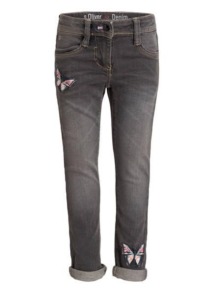 s.Oliver Jeans KATHY Slim Fit, Farbe: GREY DENIM (Bild 1)