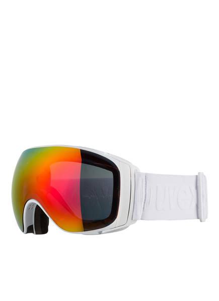 uvex Skibrille SPORTIV FM , Farbe: WEISS/ GELB (Bild 1)