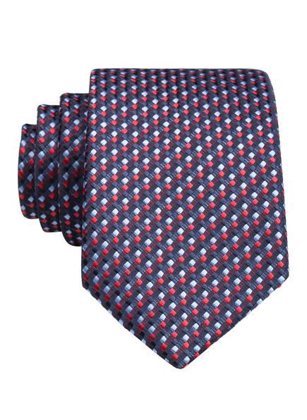 weise Krawatte, Farbe: BLAU/ ROT (Bild 1)