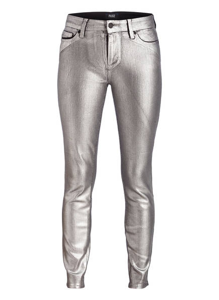 PAIGE Coated-Jeans VERDUGO, Farbe: SILBER (Bild 1)