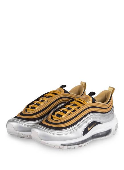 Nike Sneaker AIR MAX 97 SPECIAL EDITION, Farbe: GOLD/ SILBER/ SCHWARZ (Bild 1)