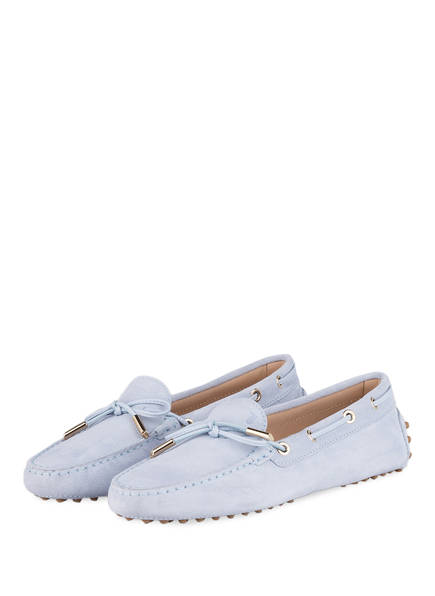 TOD'S Mokassins GOMMINO , Farbe: LIGHT BLUE (Bild 1)