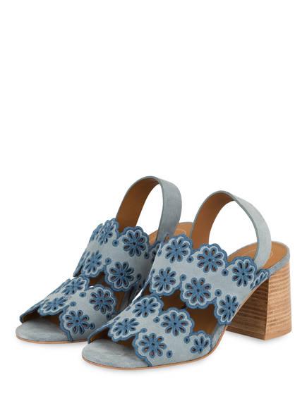 SEE BY CHLOÉ Sandaletten CROSTA, Farbe: BLAU (Bild 1)