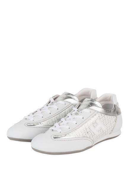 HOGAN Sneaker OLYMPIA, Farbe: HELLGRAU/ SILBER (Bild 1)