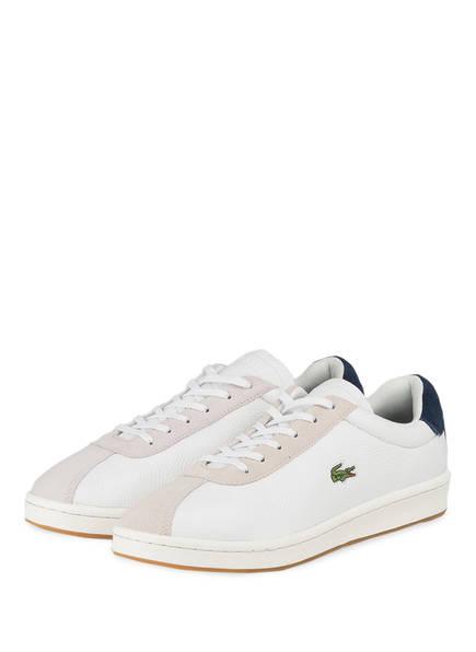 LACOSTE Sneaker MASTERS 119 3, Farbe: WEISS/ NAVY (Bild 1)