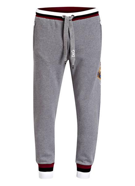 DOLCE&GABBANA Sweatpants, Farbe: GRAU MELIERT (Bild 1)