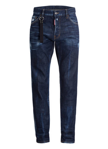 DSQUARED2 Destroyed-Jeans COOL GUY, Farbe: BLUE (Bild 1)