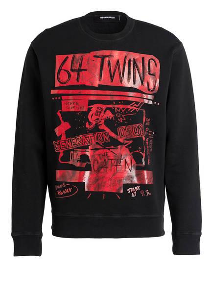 DSQUARED2 Sweatshirt, Farbe: SCHWARZ (Bild 1)