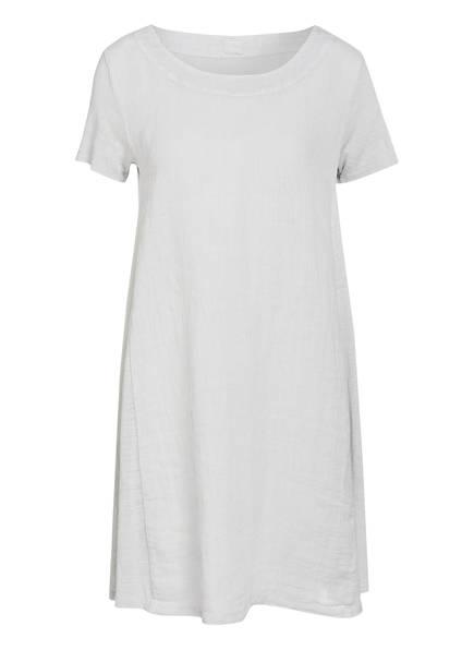 120%lino Leinenkleid, Farbe: HELLGRAU (Bild 1)