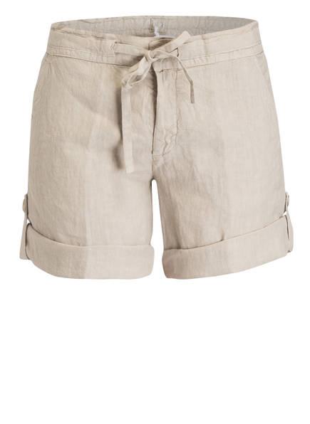 120%lino Leinen-Shorts, Farbe: BEIGE (Bild 1)