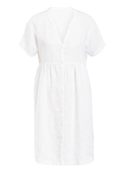 120%lino Leinenkleid, Farbe: WEISS (Bild 1)