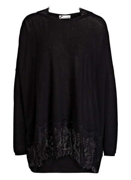 SEM PER LEI Oversized-Pullover, Farbe: SCHWARZ (Bild 1)