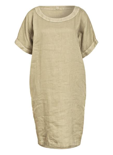 120%lino Leinenkleid, Farbe: HELLGRÜN (Bild 1)