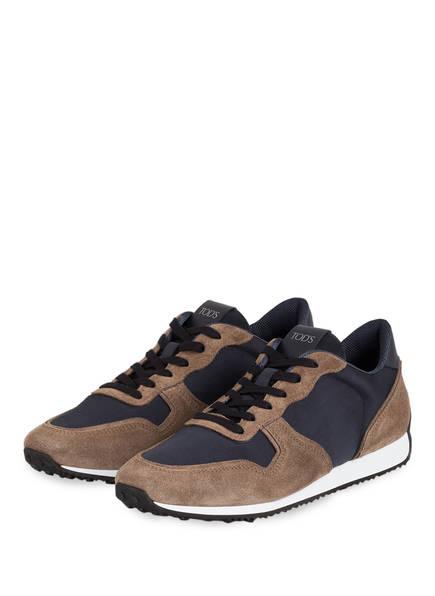 TOD'S Sneaker, Farbe: TAUPE/ DUNKELBLAU (Bild 1)
