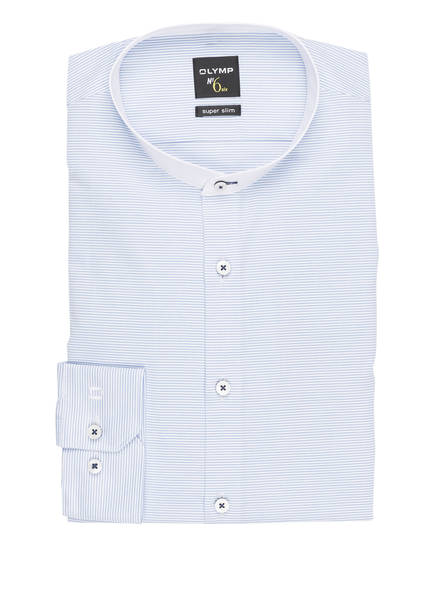 OLYMP Hemd No. Six super slim , Farbe: BLAU (Bild 1)