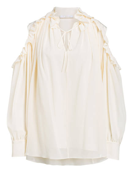 Chloé Cold-Shoulder-Bluse, Farbe: CREME (Bild 1)