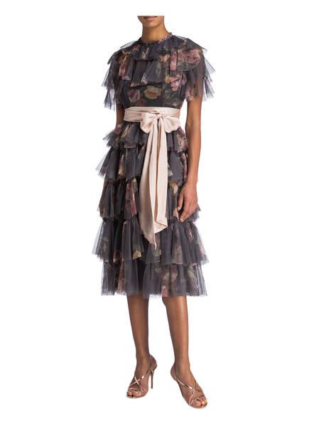 Thread amp; Dunkelgrau Kleid Venetian Rosa Needle 5IWqd1I