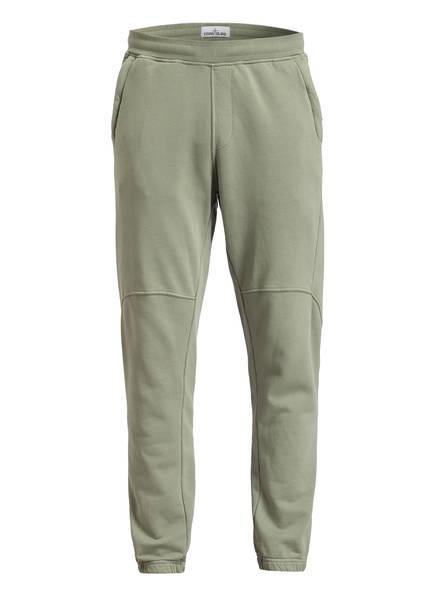 STONE ISLAND Sweatpants EMBRO , Farbe: OLIV (Bild 1)