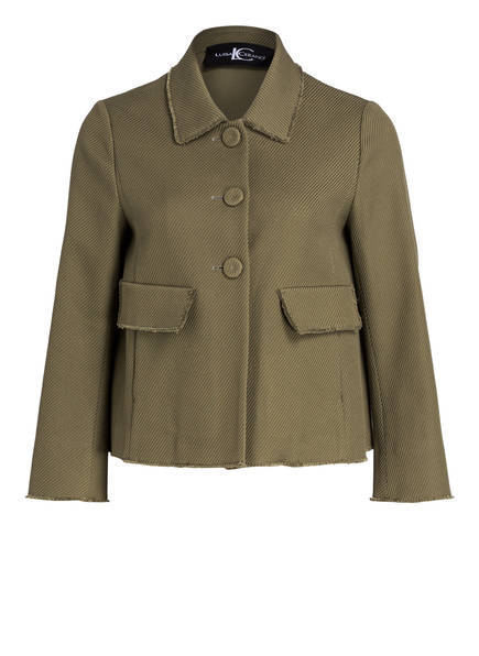 LUISA CERANO Blazer-Jacke, Farbe: OLIV (Bild 1)