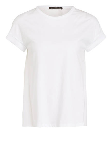 Materialmix Cerano Im Luisa T shirt Weiss qzYOd6Iw