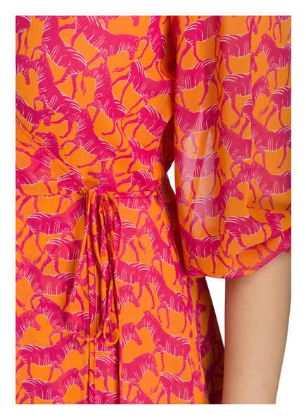 Luisa Wickelkleid Luisa Cerano Cerano Cerano Orange Orange Pink Pink Wickelkleid Luisa F6nppq