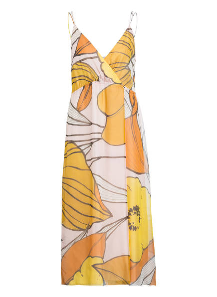Cerano Rosa Gelb Luisa Seidenkleid Orange dtqd7x