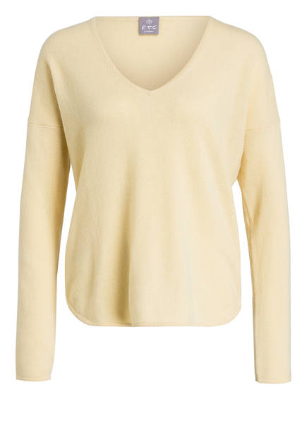 Gelb pullover Cashmere Cashmere Ftc Ftc pullover Cashmere Cashmere waT0z