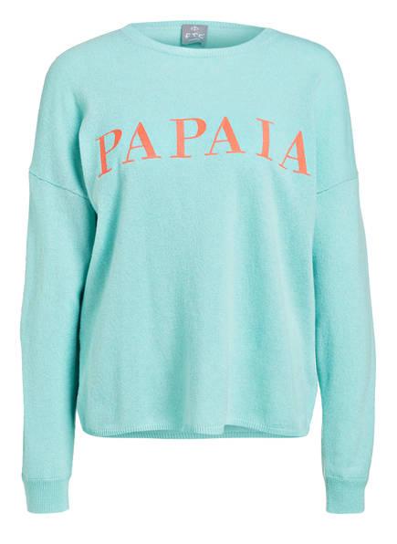Ftc Pullover Papaia Mint Cashmere Ftc Papaia Cashmere Pullover wzqxpBt