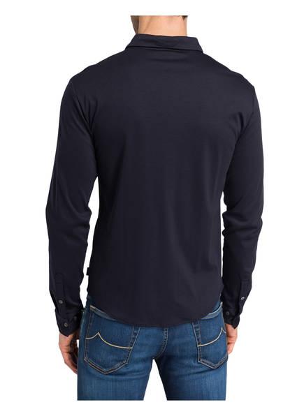 Dunkelblau Jersey Emporio Fit Armani Slim hemd x7p5nXwFqa