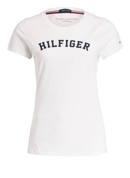 TOMMY HILFIGER Lounge-Shirt, Farbe: WEISS (Bild 1)