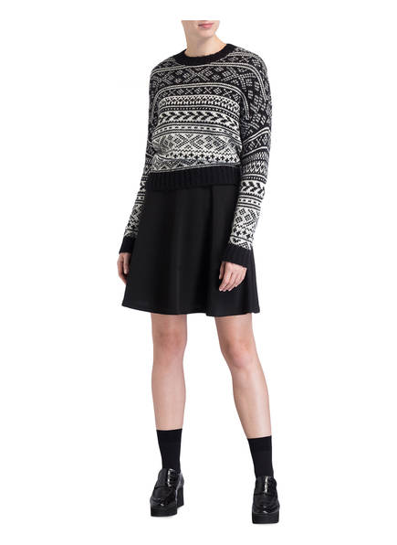 Weiss The Label Edited Evelyn Pullover Schwarz CXnaWq