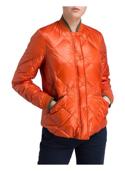 Woolrich Woolrich Daunenjacke Daunenjacke Orange Creme Grün pfBRqdwx
