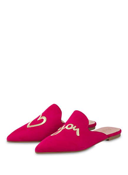 Pretty Ballerinas Mules HORMA, Farbe: FUCHSIA (Bild 1)
