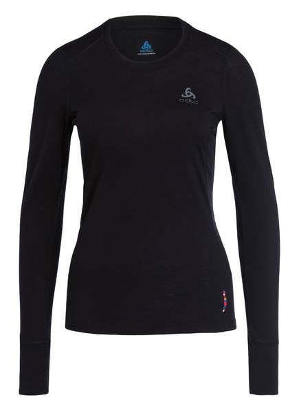 odlo Funktionswäsche-Shirt NATURAL WARM , Farbe: SCHWARZ (Bild 1)