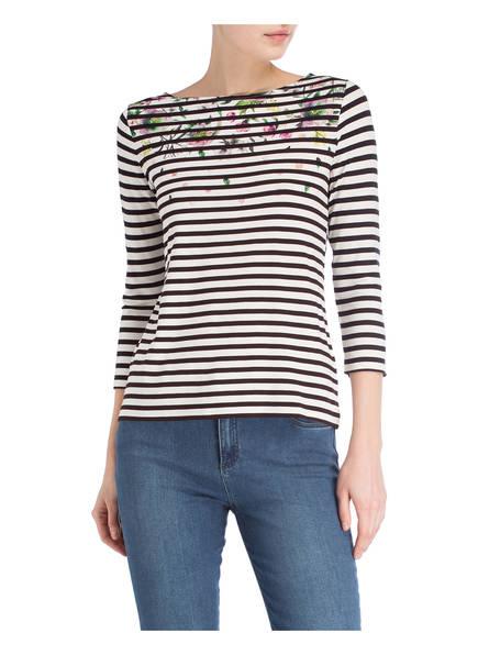 Schwarz Betty Shirt Barclay Gestreift Weiss 80wEP7qw