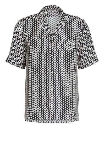 VALENTINO Seidenhemd Comfort Fit, Farbe: DUNKELBLAU/ CREME (Bild 1)