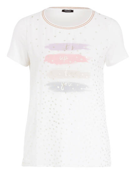 MORE & MORE T-Shirt, Farbe: WEISS/ GOLD (Bild 1)
