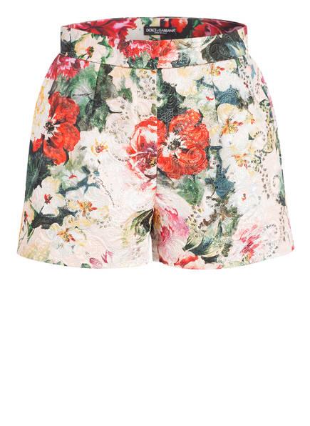 DOLCE&GABBANA Shorts, Farbe: DUNKELGRÜN/ ROT/ HELLROSA (Bild 1)