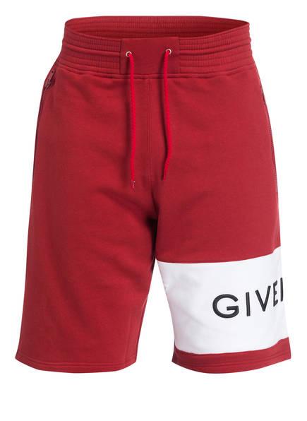 GIVENCHY Sweatshorts, Farbe: DUNKELROT (Bild 1)