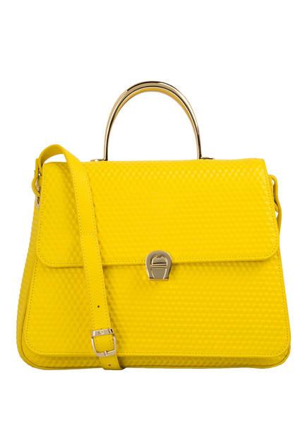 handtasche genoveva von aigner bei breuninger kaufen  aigner handtasche genoveva, farbe gelb (bild 1)