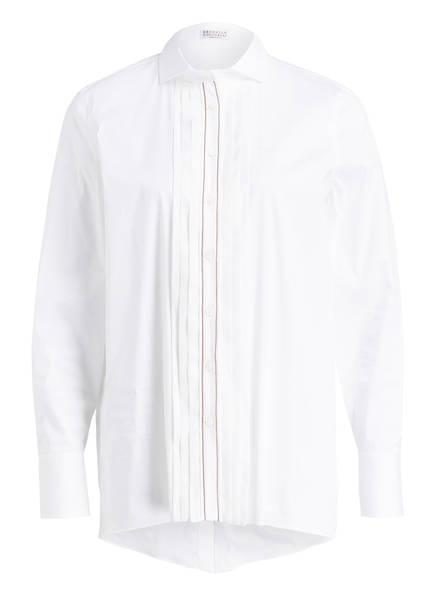BRUNELLO CUCINELLI Bluse, Farbe: WEISS (Bild 1)