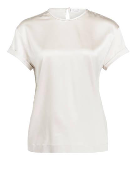 BRUNELLO CUCINELLI Blusenshirt aus Seide , Farbe: ECRU (Bild 1)