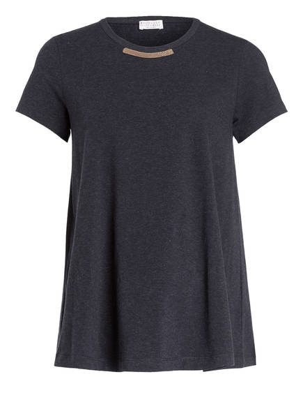 BRUNELLO CUCINELLI T-Shirt , Farbe: DUNKELGRAU MELIERT (Bild 1)