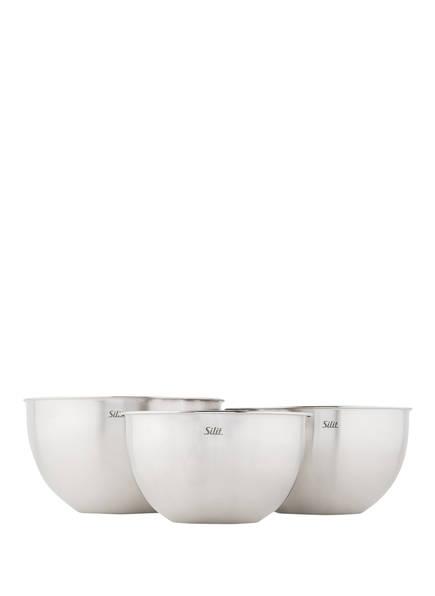 Silit 3-teiliges Küchenschüssel-Set, Farbe: SILBER (Bild 1)